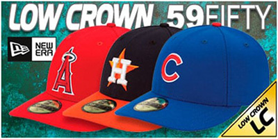 LOW-CROWN 59FIFTY Hats