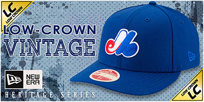 Low-Crown Vintage Hats