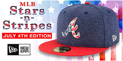 2017 MLB July 4th Hats