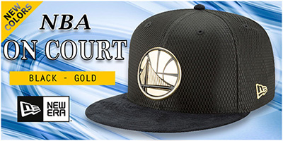 New Colors of NBA On Court Hats
