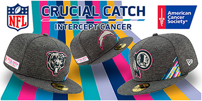 NFL Crucial Catch Hats