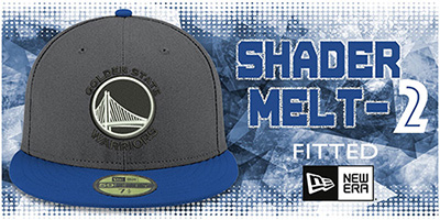 Shader Melt-2 Fitted Hats