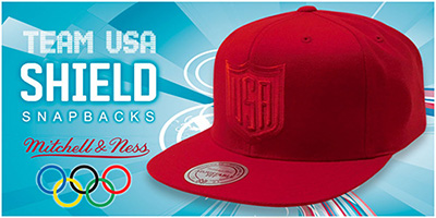Team USA Shield Snapback Hats