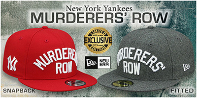 Yankees Murderers' Row Hats