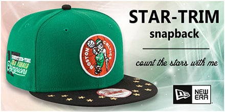 Star-Trim Snapback Hats by New Era