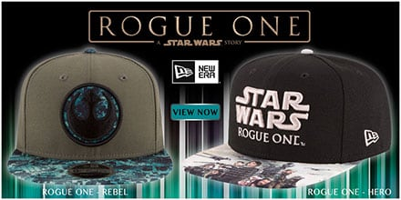 Star Wars Rogue One Hats