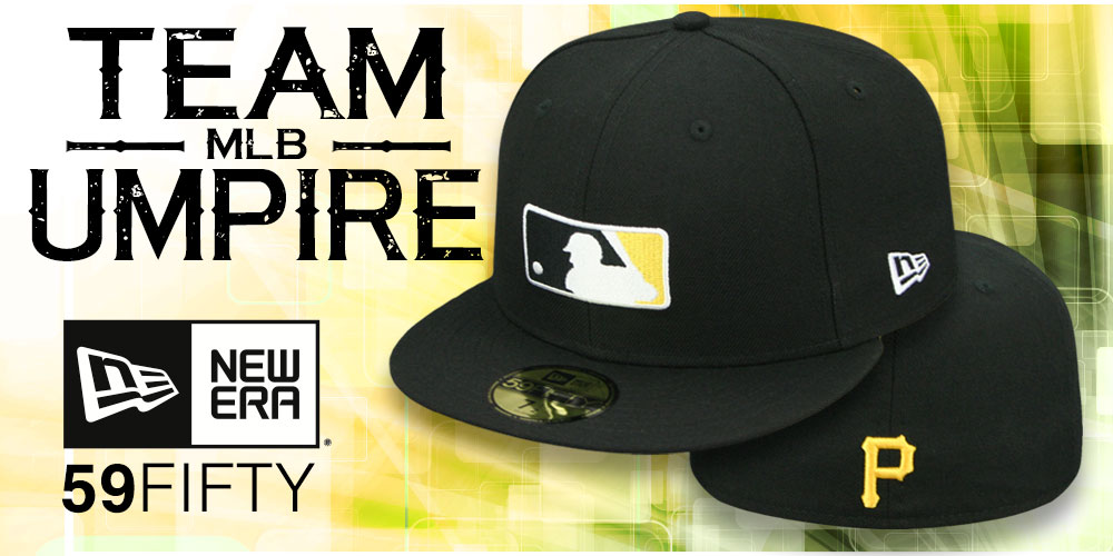 Team MLB Umpire 59FIFTY Hats