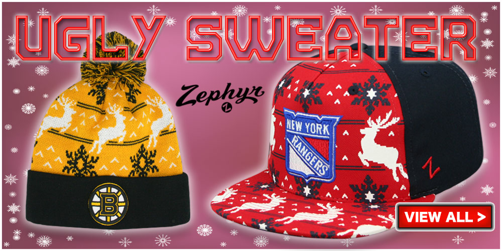 Ugly Sweater Hats by Zephyr