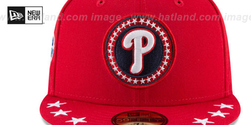 wholesale dealer 48a32 776bf ... Phillies  2018 MLB ALL-STAR WORKOUT  Fitted Hat by New Era ...