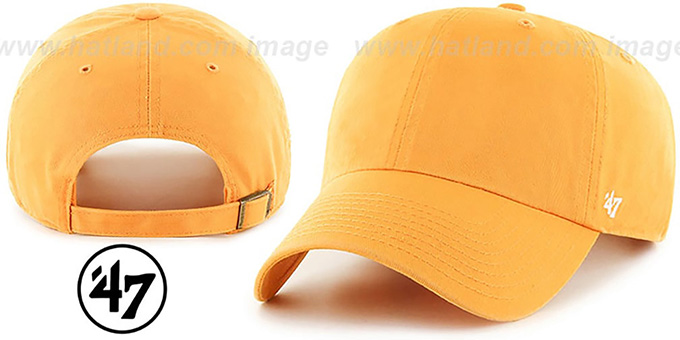 47 'BLANK CLASSIC STRAPBACK' Gold Adjustable Hat