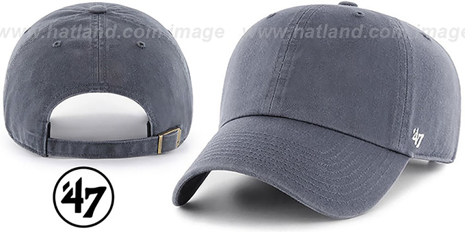 54a23ae34d7 47  BLANK CLASSIC STRAPBACK  Light Navy Adjustable Hat
