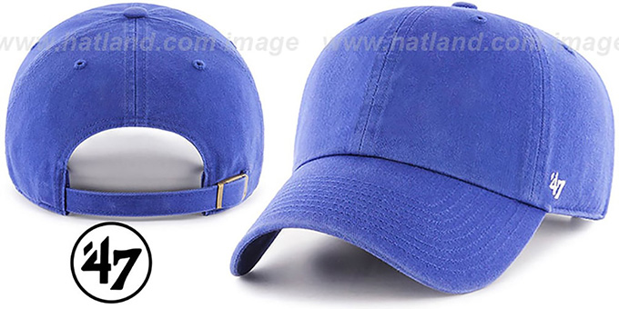 47 Blank Classic Strapback Royal Hat