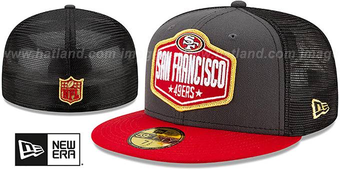 49ers '2021 NFL TRUCKER DRAFT' Fitted Hat by New Era