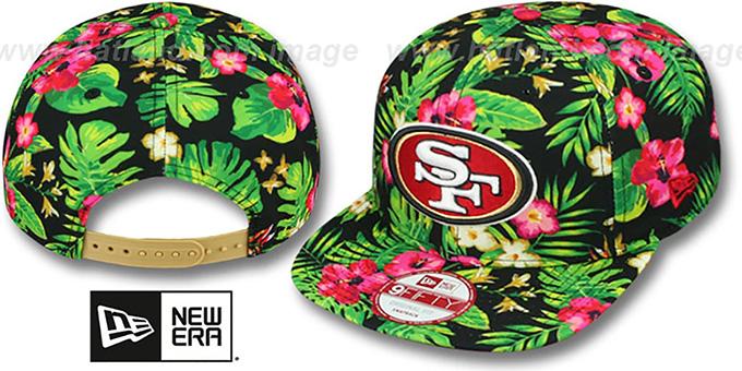 San Francisco 49ers BLOOM SNAPBACK Hat by New Era 584ab614453