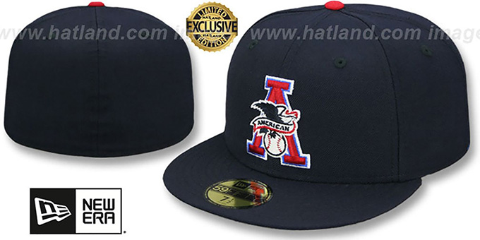 American League MLB UMPIRE Navy Hat by New Era ae7aa24e98b