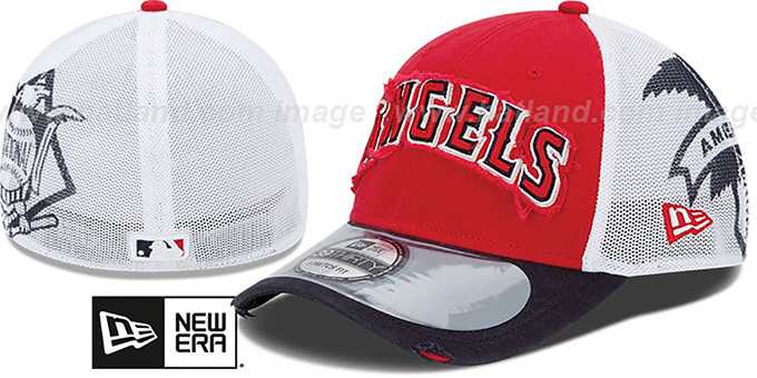 Angels '2013 CLUBHOUSE' 39THIRTY Flex Hat by New Era : pictured without stickers that these products are shipped with