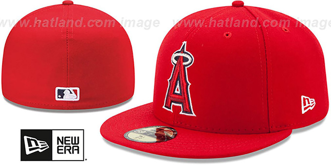 huge discount f6015 5987f Los Angeles Angels AC-ONFIELD GAME Hat by New Era. Angels  AC-ONFIELD GAME   Hat by ...