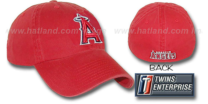Angels 'FRANCHISE' Hat by Twins - red : pictured without stickers that these products are shipped with