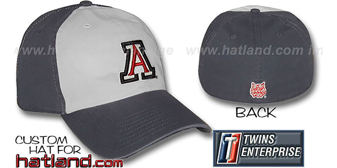 Arizona RETRO 'FRANCHISE' Hat by Twins : pictured without stickers that these products are shipped with