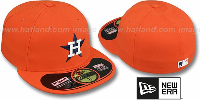 e7910dfec53 Houston Astros 1970s PERFORMANCE GAME Hat by New Era