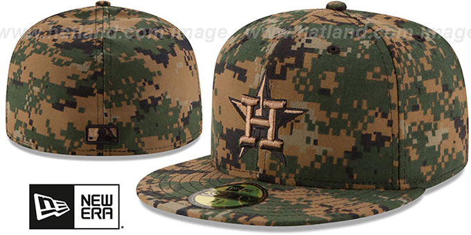 Astros 2016 MEMORIAL DAY 'STARS N STRIPES' Hat by New Era : pictured without stickers that these products are shipped with