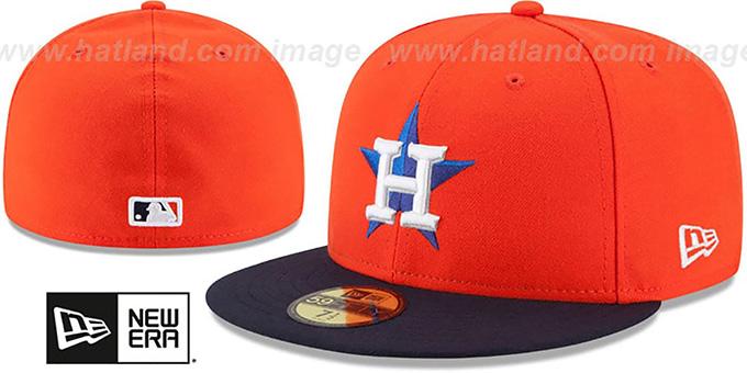 buy popular 7587b 8f0eb Astros  AC-ONFIELD ALTERNATE  Hat by New Era