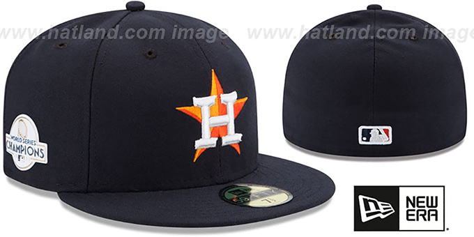 59b93b153a33e Astros  2017 WORLD SERIES  CHAMPIONS HOME Hat by New Era