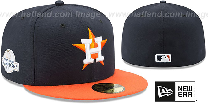 Astros  2017 WORLD SERIES  CHAMPIONS ROAD Hat by ... 58e368b33c4