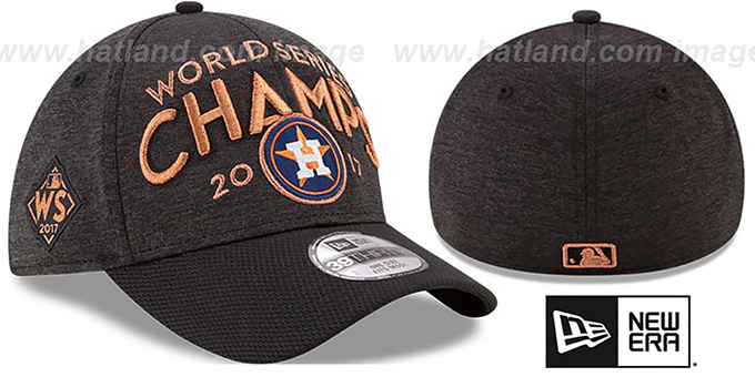 Astros '2017 WORLD SERIES' CHAMPS Flex Hat by New Era : pictured without stickers that these products are shipped with
