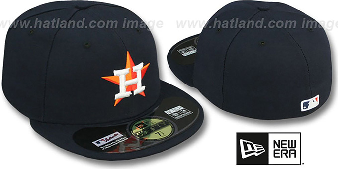 Houston Astros PERFORMANCE HOME Hat by New Era 7ff8293cf80