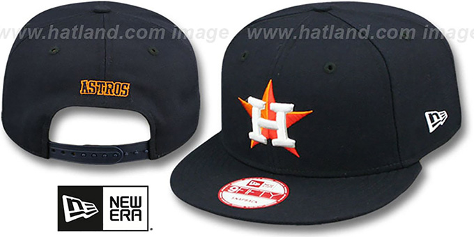 Astros 'REPLICA HOME SNAPBACK' Hat by New Era : pictured without stickers that these products are shipped with
