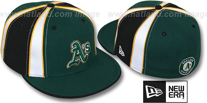Athletics 'EXPOSED' Fitted Hat by New Era : pictured without stickers that these products are shipped with