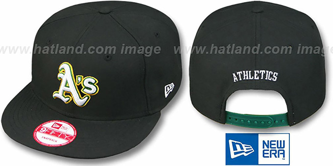 Athletics 'REPLICA ALTERNATE-2 SNAPBACK' Hat by New Era : pictured without stickers that these products are shipped with