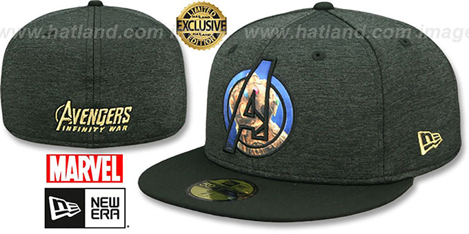 Marvel Avengers INFINITY WAR INSIDER Hat by New Era daad5ce5205