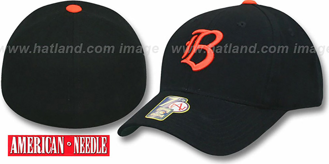 Baltimore Orioles 1955 'COOP' Hat : pictured without stickers that these products are shipped with