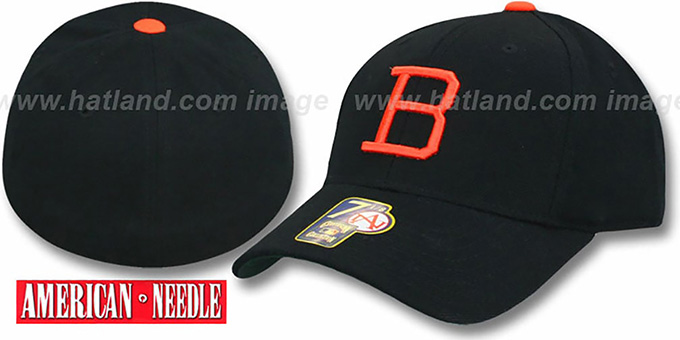 Baltimore Orioles 1963 COOP Home Hat : pictured without stickers that these products are shipped with