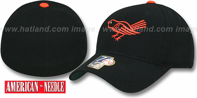 Baltimore Orioles 1964-65 'COOP' Hat : pictured without stickers that these products are shipped with