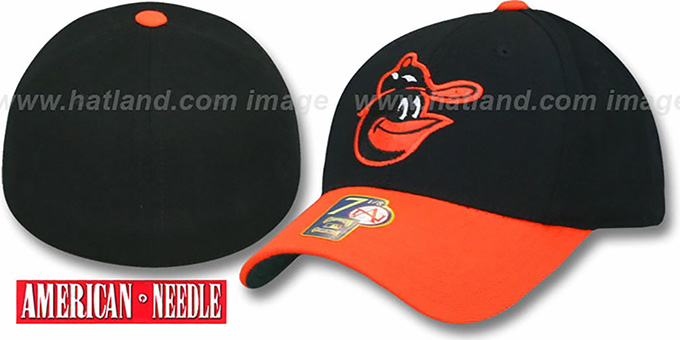 Baltimore Orioles 1966-74 'COOP' Hat : pictured without stickers that these products are shipped with