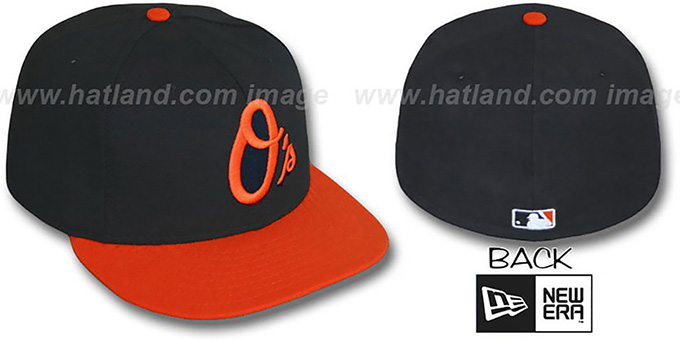 Baltimore Orioles 'ALTERNATE' Hat by New Era : pictured without stickers that these products are shipped with