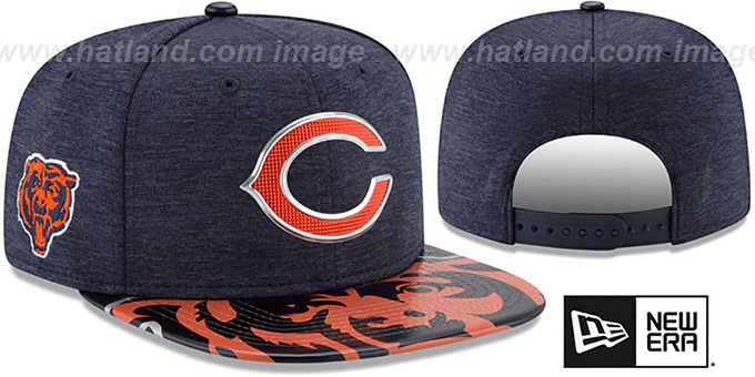 Bears  2017 NFL ONSTAGE SNAPBACK  Hat by New Era 49155661e