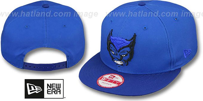 Beast 'CABESA-MUTANT SNAPBACK' Adjustable Hat by New Era : pictured without stickers that these products are shipped with