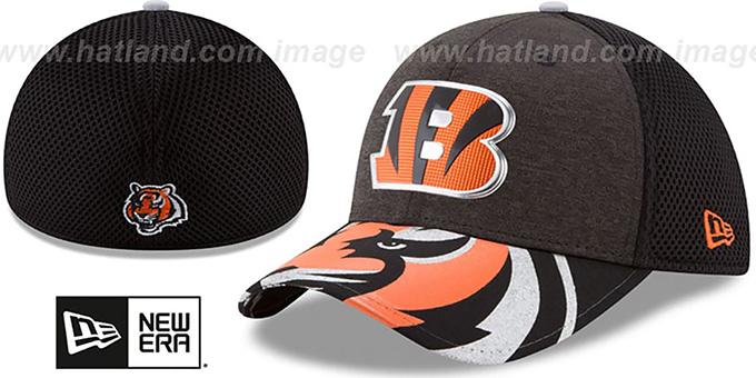 Cincinnati Bengals 2017 NFL ONSTAGE FLEX Hat by New Era ca4524dd9