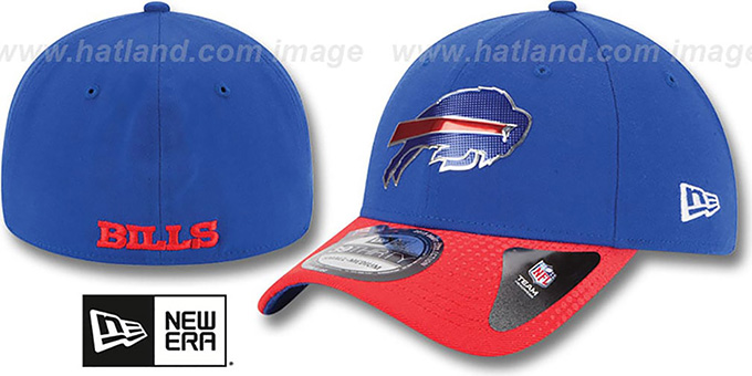 Bills '2015 NFL DRAFT FLEX'  Hat by New Era : pictured without stickers that these products are shipped with