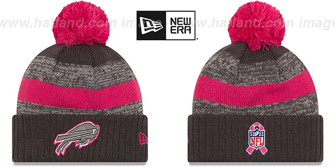 Bills '2016 BCA STADIUM' Knit Beanie Hat by New Era : pictured without stickers that these products are shipped with