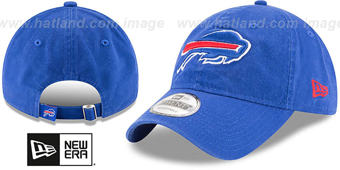 Bills 'CORE-CLASSIC STRAPBACK' Royal Hat by New Era
