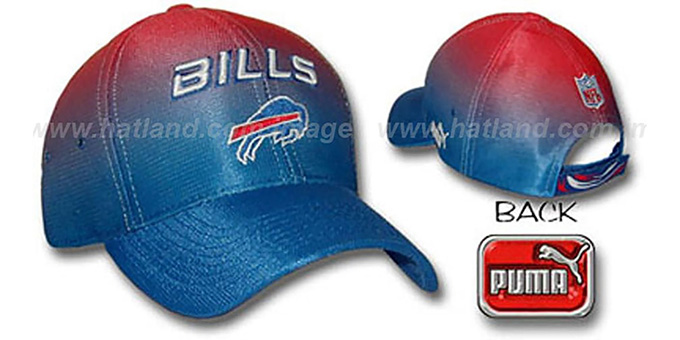 Bills 'ECLIPSE' Hat by Puma : pictured without stickers that these products are shipped with