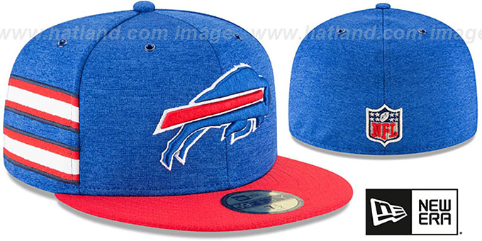 Bills 'HOME ONFIELD STADIUM' Royal-Red Fitted Hat by New Era