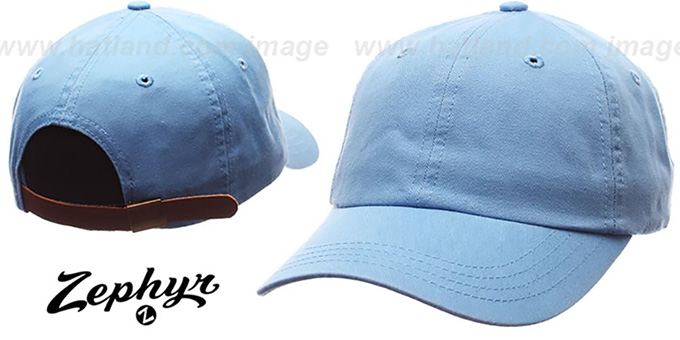 Blank 'DADDY STRAPBACK' Sky Hat Zephyr : pictured without stickers that these products are shipped with