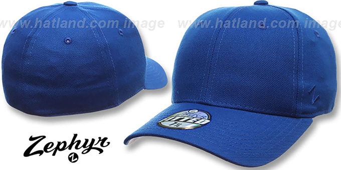 Blank  DH ROYAL  Fitted Hat by Zephyr 4f5c212b7753