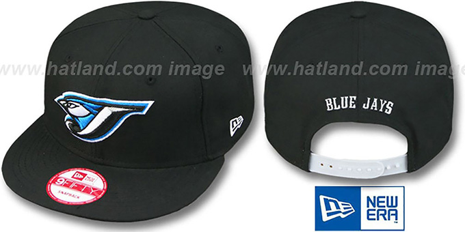 Blue Jays '2011 REPLICA GAME SNAPBACK' Hat by New Era : pictured without stickers that these products are shipped with